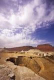 αρχαία βουνά του Ισραήλ φ&al Στοκ Εικόνες