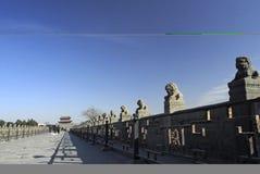 αρχαία γέφυρα Κίνα Στοκ Εικόνες