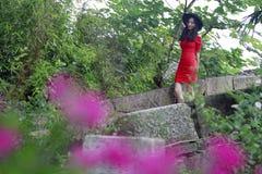 Αρχαία γέφυρα πετρών στην αρχαία πόλη Feng Jing Στοκ εικόνες με δικαίωμα ελεύθερης χρήσης