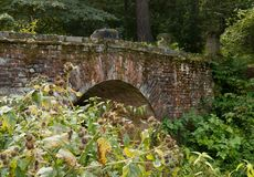 Αρχαία γέφυρα τούβλου Στοκ Φωτογραφίες