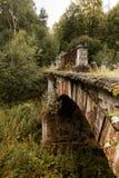 Αρχαία γέφυρα τούβλου Στοκ εικόνες με δικαίωμα ελεύθερης χρήσης