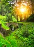 Αρχαία γέφυρα Στοκ Φωτογραφίες