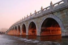 αρχαία γέφυρα στοκ εικόνα