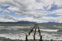 Αρχαία γέφυρα Natales Puerto Στοκ φωτογραφίες με δικαίωμα ελεύθερης χρήσης