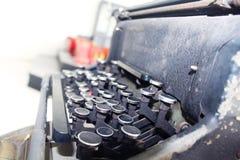 αρχαία γραφομηχανή Στοκ φωτογραφία με δικαίωμα ελεύθερης χρήσης