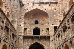 Αρχαία δεξαμενή Agrasen ki Baoli νερού, με τις αψίδες ορατές Στοκ φωτογραφίες με δικαίωμα ελεύθερης χρήσης