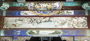 αρχαία διακόσμηση κτηρίων Στοκ Εικόνες