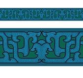 αρχαία διακόσμηση της Κίνα& Στοκ Εικόνα