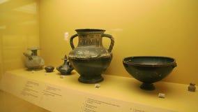 Αρχαία εκθέματα αγγειοπλαστικής στο μουσείο αγορών, αρχαιολογικά συμπεράσματα ανασκαφών φιλμ μικρού μήκους