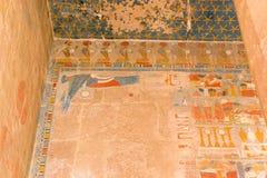Αρχαία ζωγραφική Hatshepsut Στοκ φωτογραφία με δικαίωμα ελεύθερης χρήσης