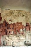 αρχαία ινδικά γλυπτά Στοκ εικόνα με δικαίωμα ελεύθερης χρήσης