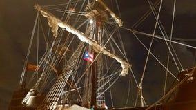 Αρχαία ισπανική βάρκα Στοκ Εικόνες
