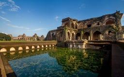Αρχαία ιστορική ινδική αρχιτεκτονική στοκ φωτογραφία με δικαίωμα ελεύθερης χρήσης