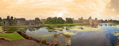 Αρχαία ιστορική ινδική αρχιτεκτονική στοκ εικόνες