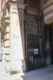 Αρχαία κάγκελα πυλών Στοκ φωτογραφία με δικαίωμα ελεύθερης χρήσης