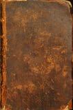 αρχαία κάλυψη Βίβλων Στοκ εικόνα με δικαίωμα ελεύθερης χρήσης