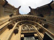 Αρχαία κάστρα στην Πράγα στοκ εικόνες