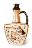 Αρχαία κανάτα κρασιού Στοκ Φωτογραφία