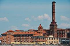 Αρχαία κατασκευή σε Άγιο Πετρούπολη Στοκ φωτογραφία με δικαίωμα ελεύθερης χρήσης