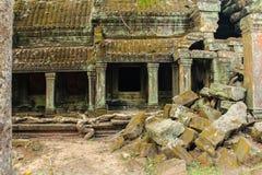 Αρχαία καταστροφή Angkor ναών wat, Καμπότζη - ναοί του angkor Στοκ φωτογραφία με δικαίωμα ελεύθερης χρήσης