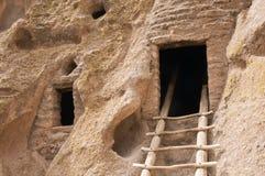αρχαία κατοικία σπηλιών Στοκ εικόνες με δικαίωμα ελεύθερης χρήσης