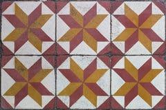 Αρχαία κεραμίδια πατωμάτων Στοκ εικόνα με δικαίωμα ελεύθερης χρήσης
