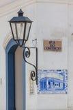 Αρχαία κεραμίδια του ταχυδρομείου σε Paraty - RJ Στοκ Φωτογραφία