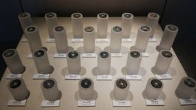 Αρχαία κινεζικά νομίσματα στοκ φωτογραφίες
