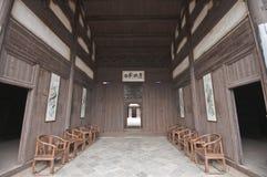 αρχαία κινεζική αίθουσα Στοκ εικόνα με δικαίωμα ελεύθερης χρήσης