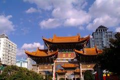 Αρχαία κινεζική αψίδα Στοκ φωτογραφία με δικαίωμα ελεύθερης χρήσης