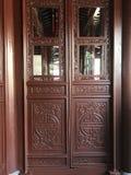 αρχαία κινεζική πόρτα στοκ φωτογραφίες