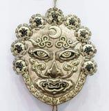 Αρχαία κινεζική χειρωνακτική shamanistic μάσκα Στοκ Εικόνες