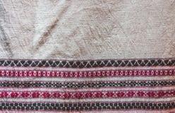 Αρχαία κλωστοϋφαντουργικά προϊόντα βαμβακιού/λαϊκά κλωστοϋφαντουργικά προϊόντα της Ταϊλάνδης Στοκ εικόνα με δικαίωμα ελεύθερης χρήσης