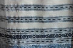 Αρχαία κλωστοϋφαντουργικά προϊόντα βαμβακιού/λαϊκά κλωστοϋφαντουργικά προϊόντα της Ταϊλάνδης Στοκ φωτογραφία με δικαίωμα ελεύθερης χρήσης