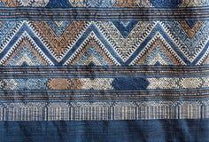 Αρχαία κλωστοϋφαντουργικά προϊόντα βαμβακιού/λαϊκά κλωστοϋφαντουργικά προϊόντα της Ταϊλάνδης Στοκ Φωτογραφία