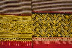 Αρχαία κλωστοϋφαντουργικά προϊόντα βαμβακιού/λαϊκά κλωστοϋφαντουργικά προϊόντα της Ταϊλάνδης Στοκ Φωτογραφίες