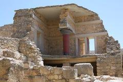Αρχαία Κνωσός στο νησί της Κρήτης, Ελλάδα Στοκ φωτογραφία με δικαίωμα ελεύθερης χρήσης