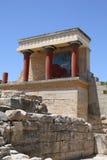 Αρχαία Κνωσός στο νησί της Κρήτης, Ελλάδα Στοκ Εικόνα