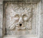 Αρχαία μάσκα πετρών ενός λιονταριού στοκ φωτογραφία με δικαίωμα ελεύθερης χρήσης