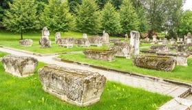 αρχαία νεκρόπολη Στοκ Φωτογραφία