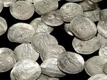 αρχαία νομίσματα Στοκ Φωτογραφίες
