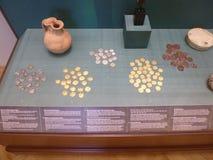 αρχαία νομίσματα Στοκ εικόνα με δικαίωμα ελεύθερης χρήσης