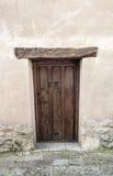 Αρχαία ξύλινη πόρτα Στοκ φωτογραφία με δικαίωμα ελεύθερης χρήσης
