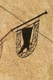 αρχαία οδός πινακίδων Στοκ φωτογραφία με δικαίωμα ελεύθερης χρήσης