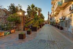 Αρχαία οδός της πόλης Antalya Στοκ Εικόνα