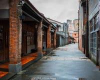 Αρχαία οδός Bopiliao στη Ταϊπέι Ταϊβάν στοκ εικόνα