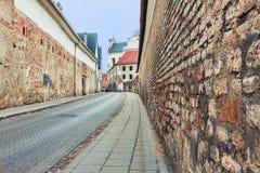 Αρχαία οδός Στοκ Εικόνα