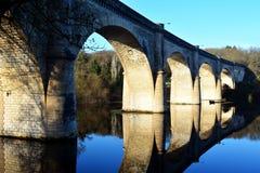 αρχαία πέτρα γεφυρών Στοκ Εικόνες