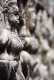 αρχαία πέτρα γλυπτών της Καμπότζης angkor wat Στοκ Εικόνα