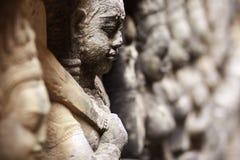 αρχαία πέτρα γλυπτών της Καμπότζης angkor wat Στοκ Εικόνες